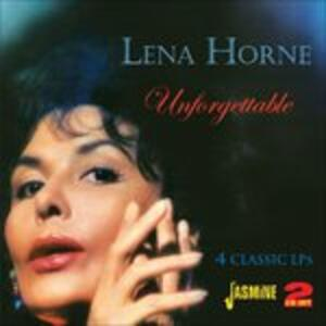 Unforgettable. 4 Classic Lps - CD Audio di Lena Horne