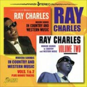 Modern Sounds in Country and Western vol.1 & 2 - CD Audio di Ray Charles