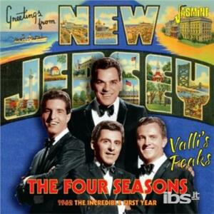 Valli's Peaks 1962 - CD Audio di Four Seasons