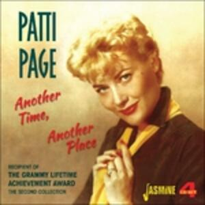 Another Time, Another Place - CD Audio di Patti Page