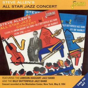 All Star Jazz Concert - CD Audio di Steve Allen