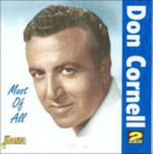 Most of All - CD Audio di Don Cornell