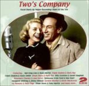 Two's Company. Vocal Duals by Major Recordings - CD Audio