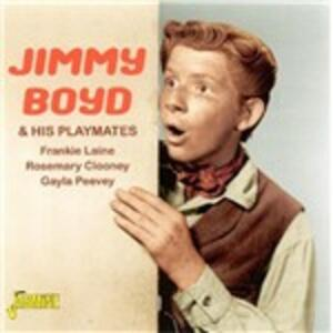 And His Plamates - CD Audio di Jimmy Boyd