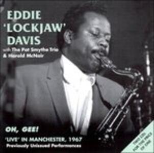Live Manchester 1967 - CD Audio di Eddie Lockjaw Davis