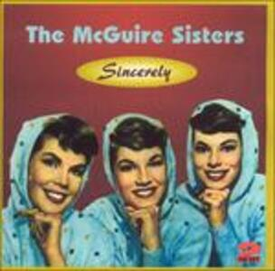 Sincerely - CD Audio di McGuire Sisters