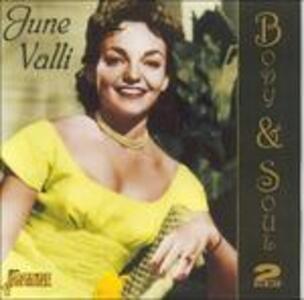 Body and Soul - CD Audio di June Valli