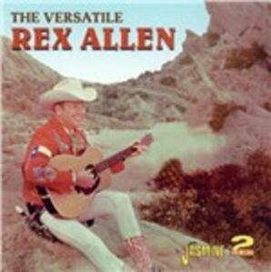 Versatile - CD Audio di Rex Allen