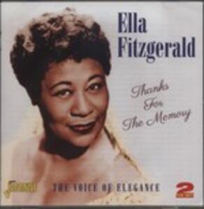 Thanks for the Memory - CD Audio di Ella Fitzgerald