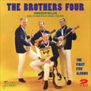Greenfields & Other Folk Music Greats - CD Audio di Brothers Four