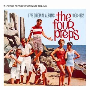 Five Original Albums 1958-1962 - CD Audio di Four Preps