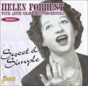 Sweet & Simple vol.2 - CD Audio di Helen Forrest