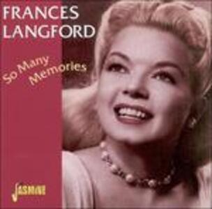 So Many Memories - CD Audio di Frances Langford