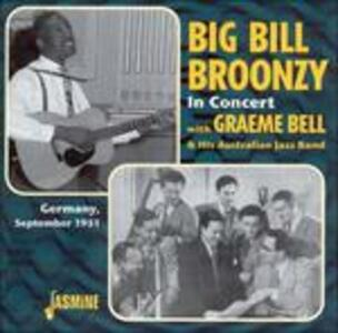 In Concert - CD Audio di Big Bill Broonzy