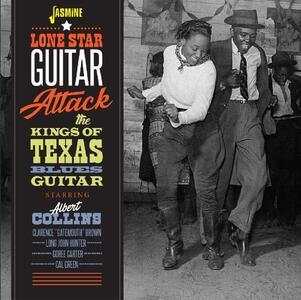 Lone Star Guitar Attack. The Kings of Texas Blues Guitar - CD Audio