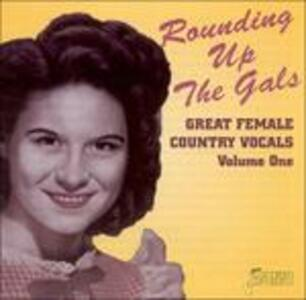 Rounding Up the Gals. Great Female Vocals vol.1 - CD Audio