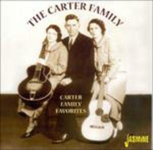 Carter Family Favorites - CD Audio di Carter Family