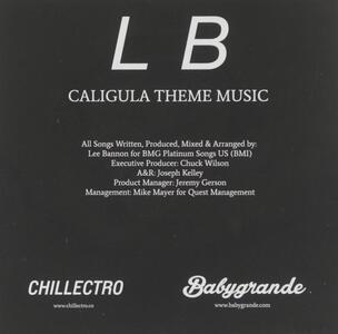 Caligula Theme Music - CD Audio di Lee Bannon