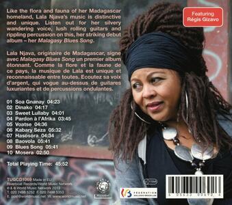 Malagasy Blues Song - CD Audio di Lala Njava - 2