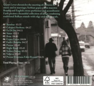 Gypsy Lover - CD Audio di Faith I Branko - 2