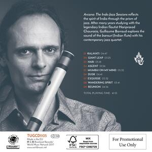 Arcana. The Indo-Jazz Sessions - CD Audio di Guillaume Barraud - 2