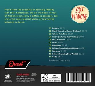 Quest - CD Audio di Out of Nations - 2