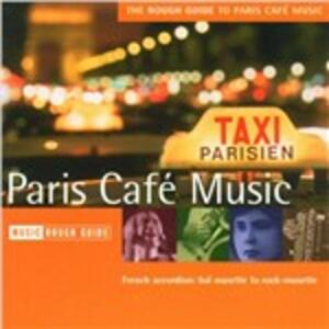 The Rough Guide to Paris Café Music - CD Audio