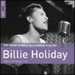 The Rough Guide to Jazz and Blues Legends. Billie Holiday - CD Audio di Billie Holiday