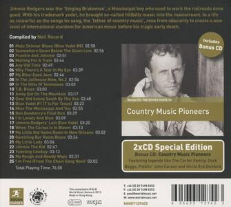 The Rough Guide to Jimmie Rodgers - CD Audio di Jimmie Rodgers - 2
