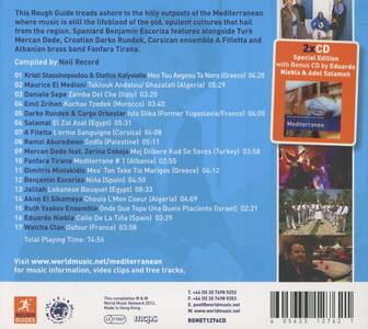 The Rough Guide to the Music of the Mediterranean - CD Audio - 2