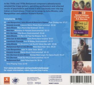 The Rough Guide to Psychedelic Bollywood - CD Audio - 2
