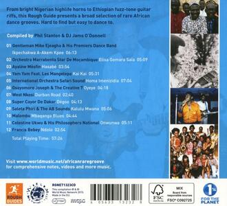 The Rough Guide to African Rare Groove vol.1 - CD Audio - 2