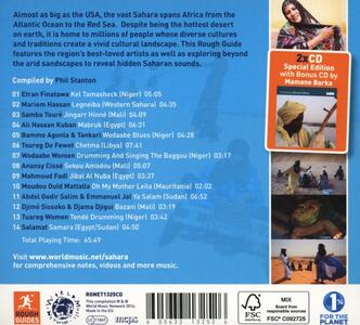 The Rough Guide to the Music of the Sahara - CD Audio - 2