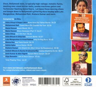 The Rough Guide to Bollywood - CD Audio - 2