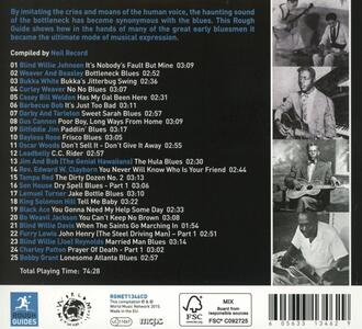 The Rough Guide to Bottleneck Blues - CD Audio - 2