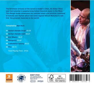 The Rough Guide to Ali Akbar Khan - CD Audio di Ali Akbar Khan - 2
