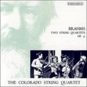 Quartetti op.51 - CD Audio di Johannes Brahms,Colorado String Quartett