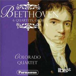 Quartetti per Archi n.1-6 op.18 - CD Audio di Ludwig van Beethoven