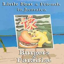 Little Feat & Friends In Jamaica. Burgers And Paradise (2 DVD) - DVD