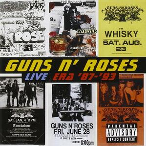 Live Era '87-'93: The Best of - CD Audio di Guns N' Roses
