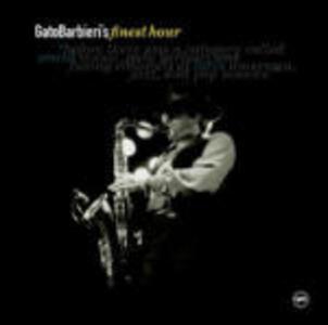 Finest Hour - CD Audio di Gato Barbieri