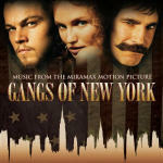 Cover della colonna sonora del film Gangs of New York