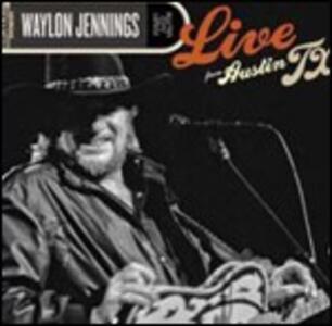 Live from Austin TX - Vinile LP di Waylon Jennings