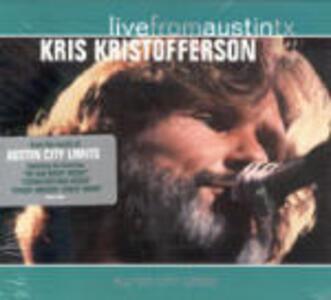 Live from Austin TX - CD Audio di Kris Kristofferson