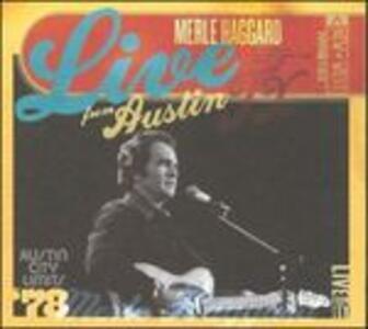 Live from Austin TX 1978 - CD Audio di Merle Haggard