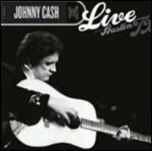 Live from Austin TX - CD Audio + DVD di Johnny Cash
