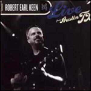 Live from Austin TX - CD Audio + DVD di Robert Earl Keen Jr.