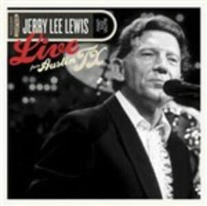 Live from Austin TX - CD Audio + DVD di Jerry Lee Lewis
