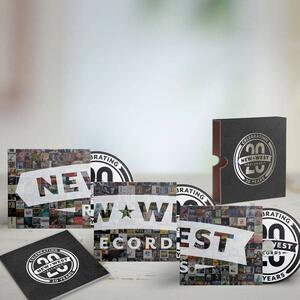 New West Records 20th Anniversary - CD Audio - 2
