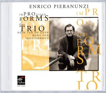 Improvised Forms for Trio - CD Audio di Enrico Pieranunzi - 2